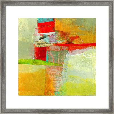 Crossroads 55 Framed Print by Jane Davies