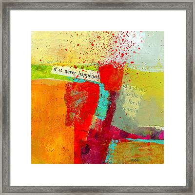 Crossroads 58 Framed Print by Jane Davies