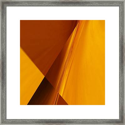 Crossroads 7 Framed Print by Tom Druin