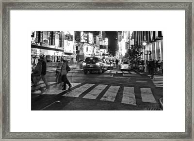 Crosswalk Framed Print by Dan Sproul