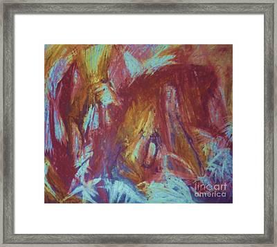 Crowman Framed Print by Ann Fellows