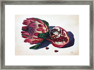 Crowns Of Your Creation Framed Print by Ilse Kleyn