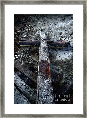 Crucifixion Framed Print by Margie Hurwich