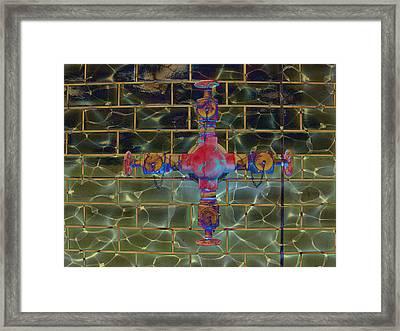 Cruciform The Second Framed Print by MJ Olsen