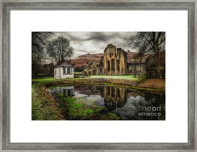 Crucis Abbey Framed Print by Adrian Evans