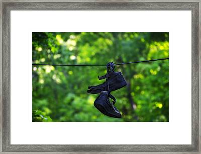 Cruel Shoes Framed Print by Bill Cannon