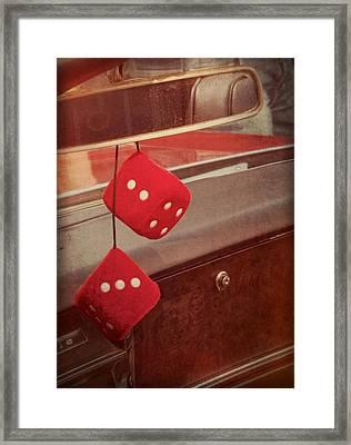 Cruise Framed Print by Odd Jeppesen
