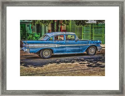 Cruisin Havana Framed Print by Erik Brede