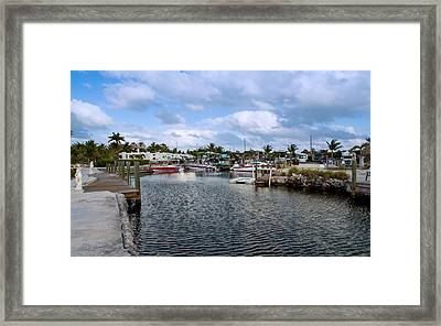 Cruising Into Camp Framed Print by John Bailey