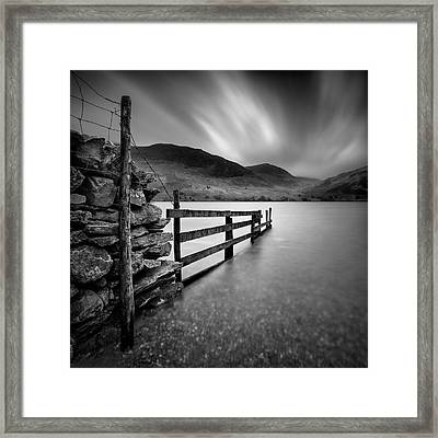 Crummock Water Framed Print by Dave Bowman