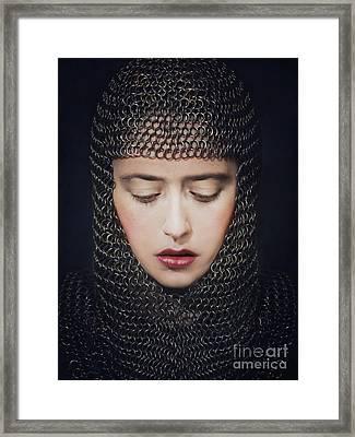 Crusader I Framed Print by Malgorzata Maj