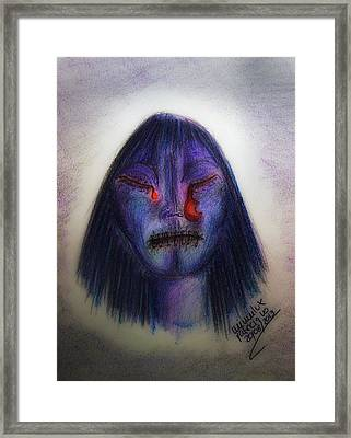 Cry Me A Moon Framed Print by Mimulux patricia no