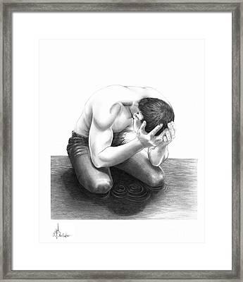 Cry Me A River Framed Print by Murphy Elliott