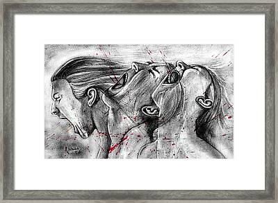 Cry Out Framed Print by Rishabh Ranjan