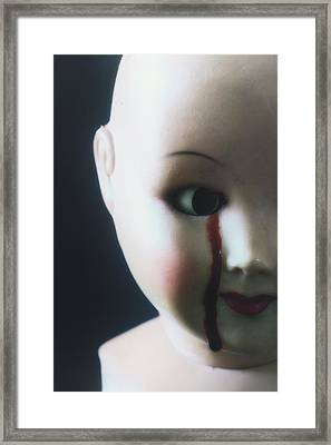 Crying Blood Framed Print by Joana Kruse