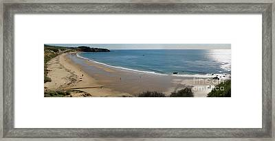 Crystal Cove View - 01 Framed Print by Gregory Dyer