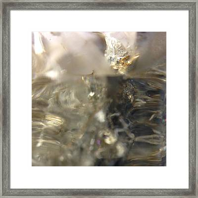 Crystal Framed Print by Gaby Tench