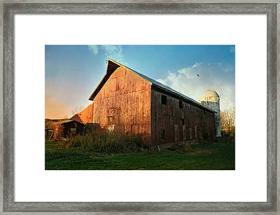 Crystal Waters Farm Framed Print by Diana Angstadt