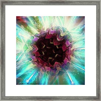 Crystalline Entity Framed Print by AlyZen Moonshadow