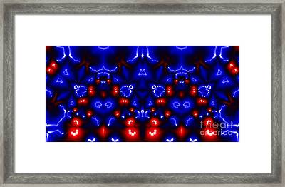 Crystals Of Love Framed Print by Aymen Tabib
