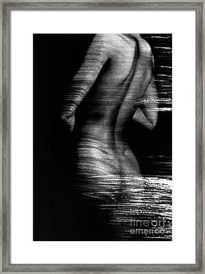 Csf Back Framed Print by Tony Cordoza