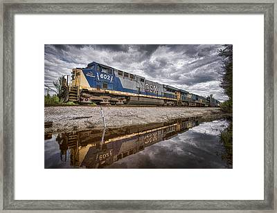 Csx The Spirit Of Maryland Framed Print by Jim Pearson