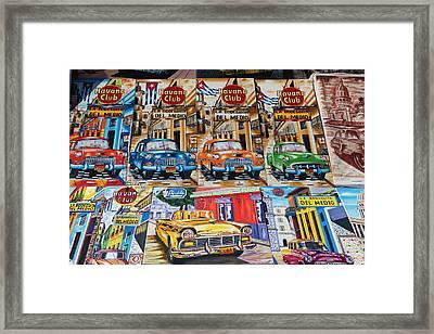 Cuba, Havana, Castillo De Los Tres Framed Print by Walter Bibikow