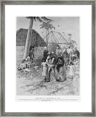 Cuba Internment Camps Framed Print by Granger