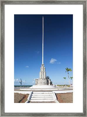 Cuba, Matanzas Province, Cardenas Framed Print by Walter Bibikow