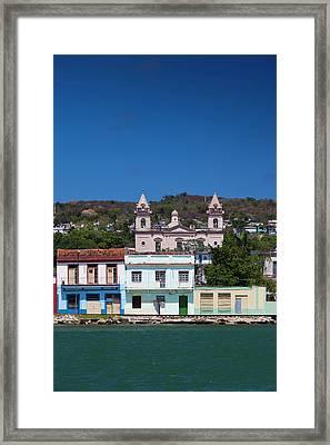 Cuba, Matanzas Province, Matanzas, Town Framed Print by Walter Bibikow