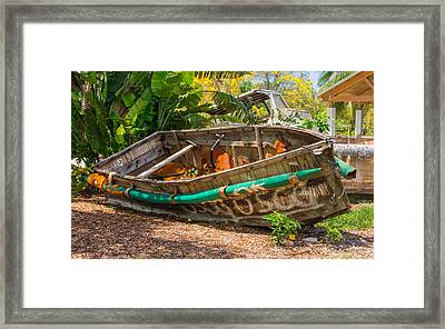 Cuban Chugs Framed Print by John Bailey