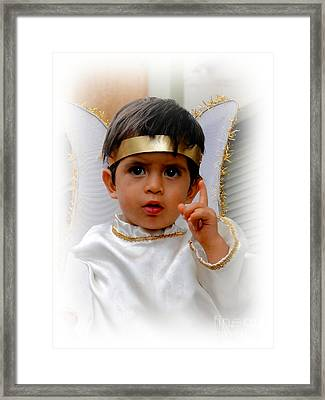 Cuenca Kids 332 Framed Print by Al Bourassa
