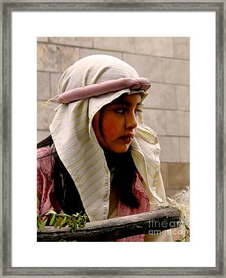 Cuenca Kids 335 Framed Print by Al Bourassa