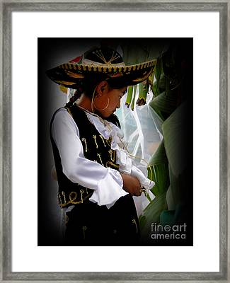 Cuenca Kids 450 Framed Print by Al Bourassa
