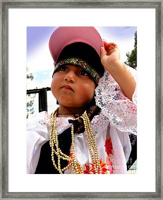 Cuenca Kids 530 Framed Print by Al Bourassa
