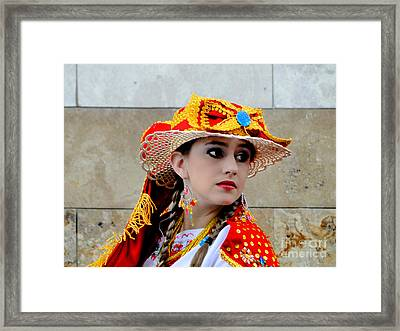 Cuenca Kids 562 Framed Print by Al Bourassa