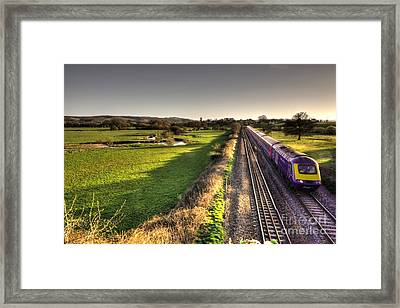 Culm Valley Hst  Framed Print by Rob Hawkins