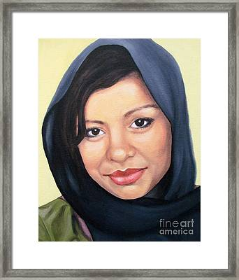 Cultured Beauty Framed Print by Malinda  Prudhomme
