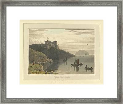 Culzean Castle In Ayrshire Framed Print by British Library