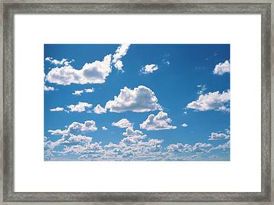 Cumulus Clouds Framed Print by Panoramic Images