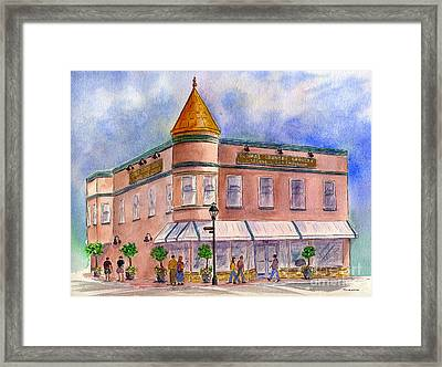 Cunha's Country Store Framed Print by Diane Thornton