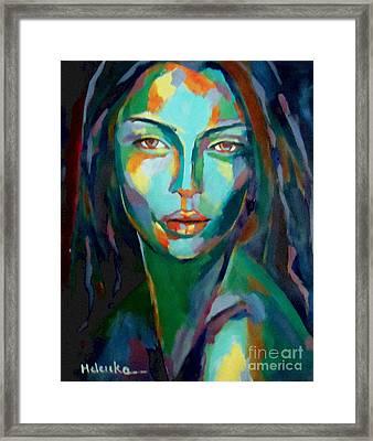 Cunning Framed Print by Helena Wierzbicki