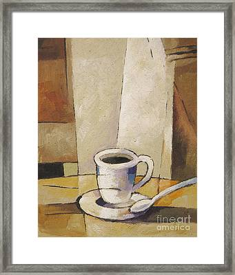 Cup Of Coffee Framed Print by Lutz Baar