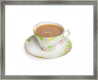 Cup Of Tea  Framed Print by Colin and Linda McKie