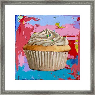 Cupcake #4 Framed Print by David Palmer