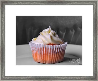 Cupcake II Framed Print by Jai Johnson