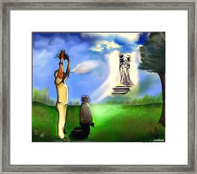 Curandera/ Healer Framed Print by Carmen Cordova