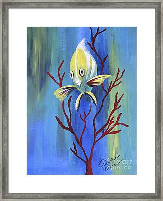 Curious  Framed Print by Barbara Petersen