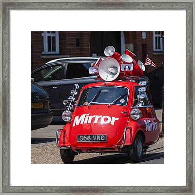 Curiously British Framed Print by Matthew Bruce