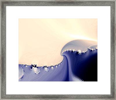 Current Framed Print by Kevin Trow